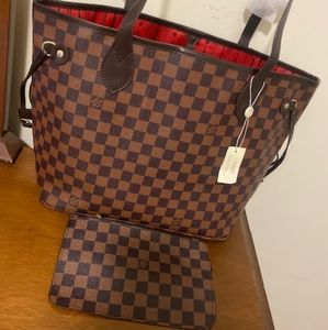 ***Plaid m neverfull Louis Vuitton MED